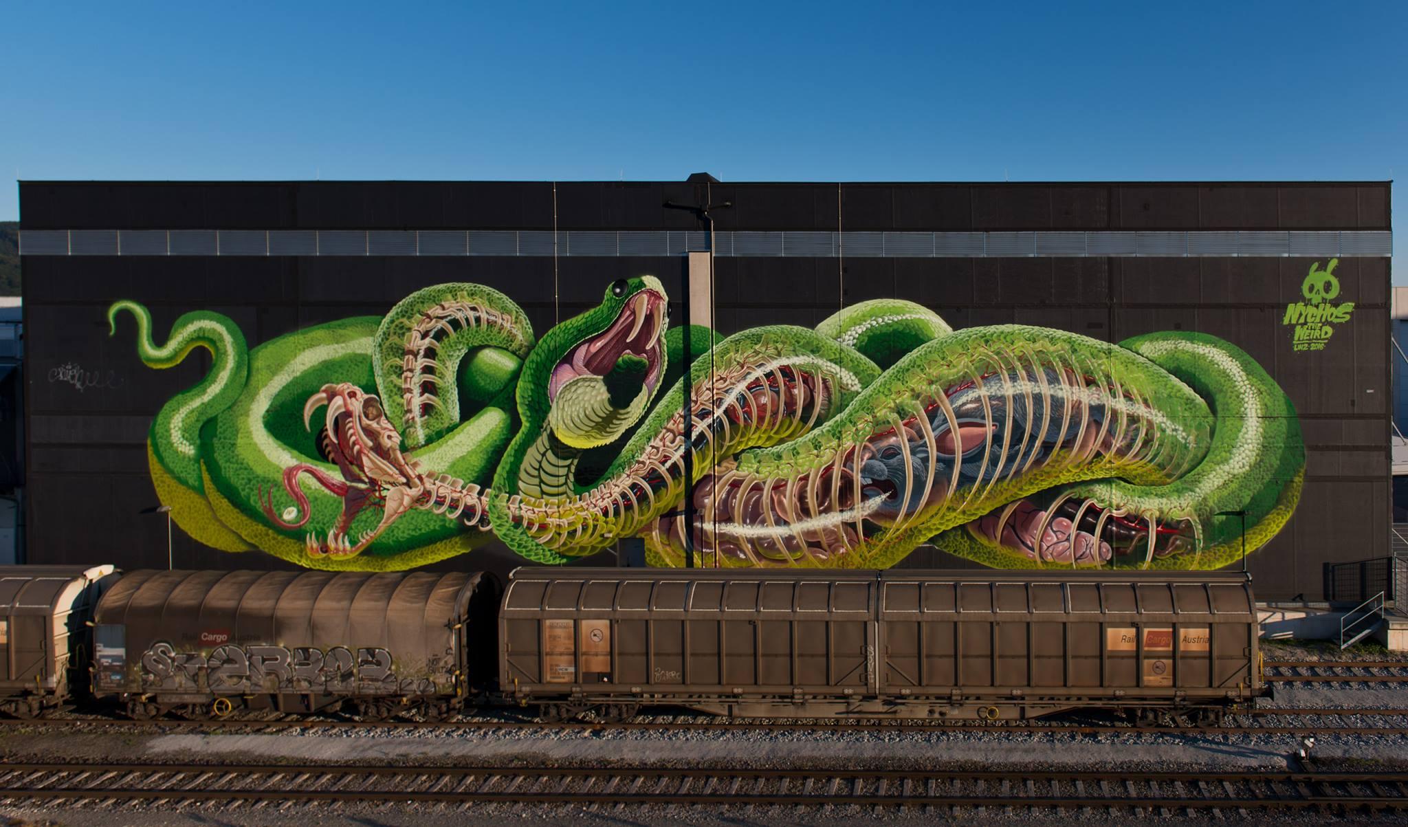 HD Quality Wallpaper | Collection: Artistic, 2048x1203 Street Art