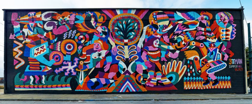 High Resolution Wallpaper | Street Art 838x346 px