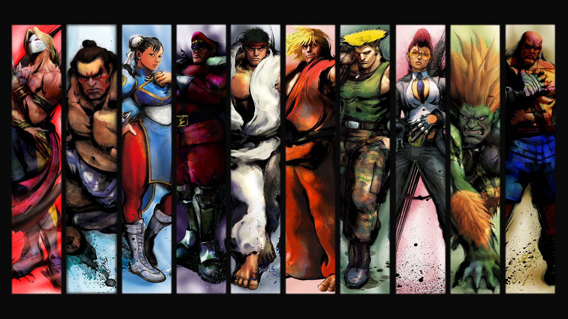 Amazing Street Fighter Pictures & Backgrounds