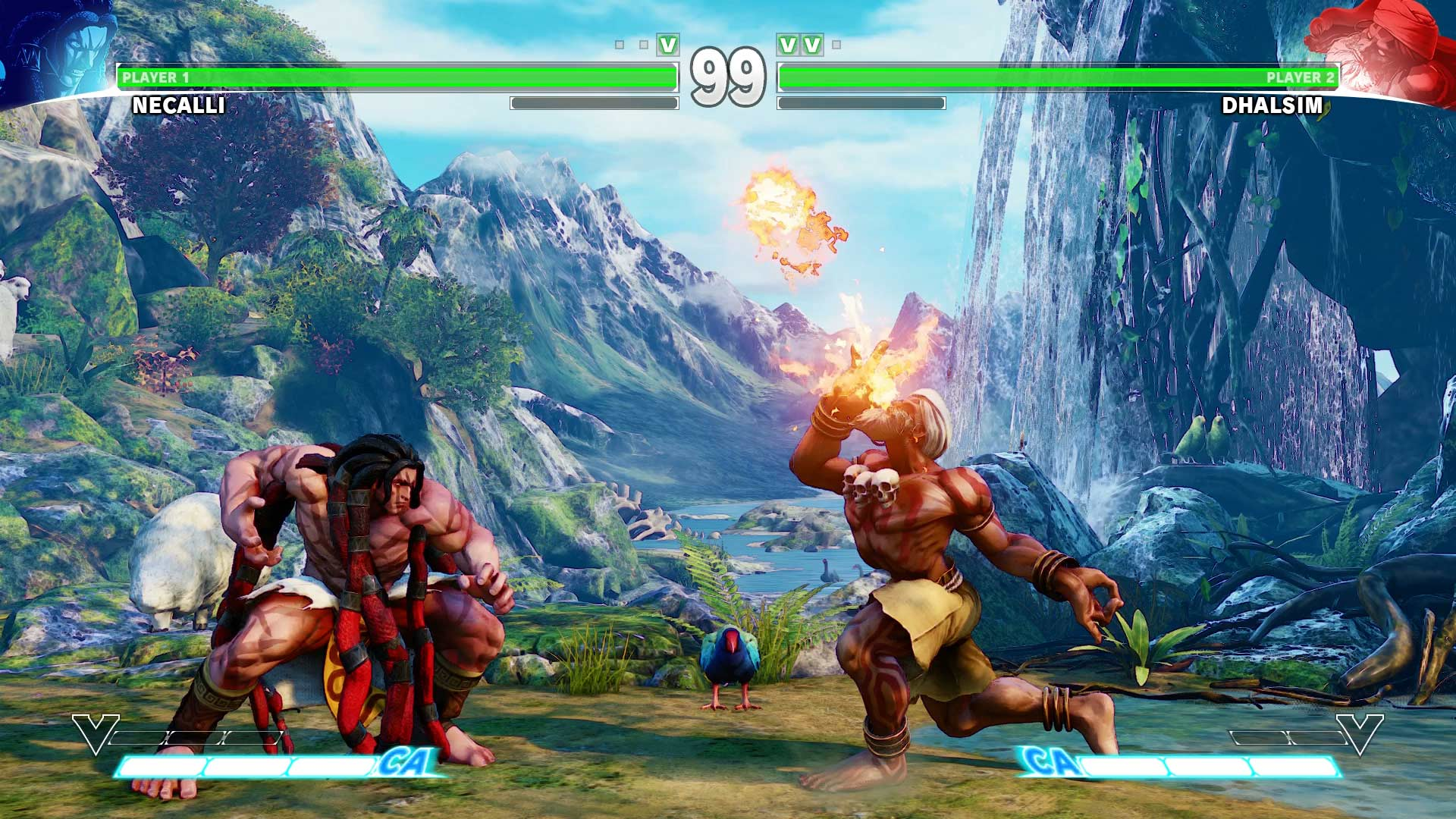 Nice Images Collection: Street Fighter Desktop Wallpapers