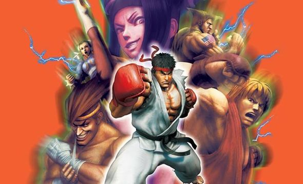 Street Fighter Backgrounds on Wallpapers Vista