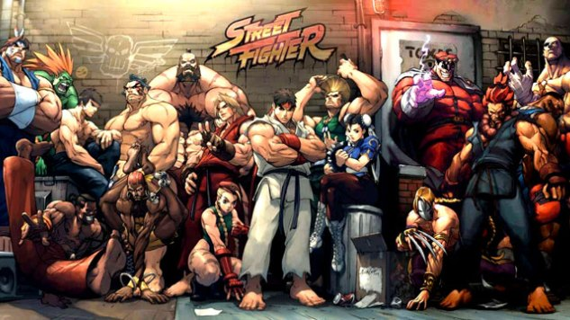Street Fighter Pics, Comics Collection
