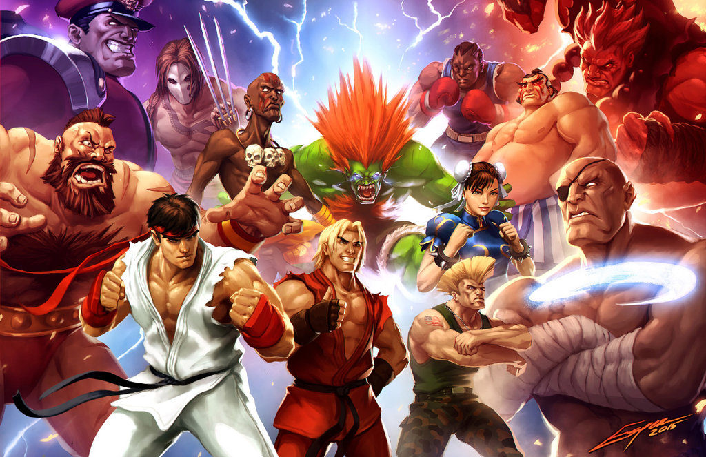 Street Fighter High Quality Background on Wallpapers Vista