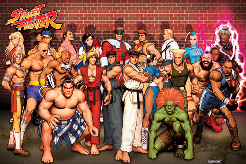 Nice wallpapers Street Fighter 500x334px