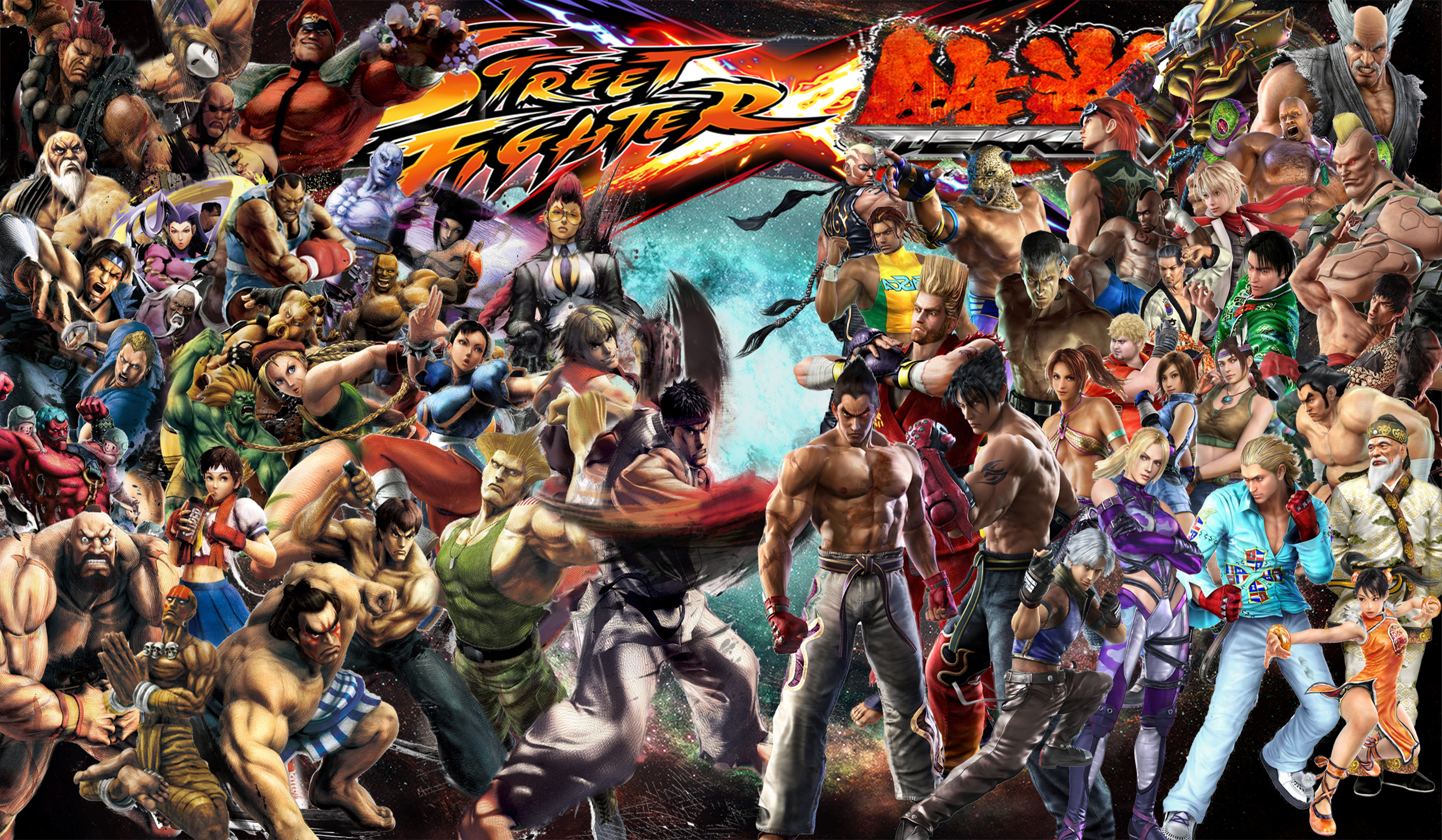 Most Viewed Street Fighter X Tekken Wallpapers 4k Wallpapers