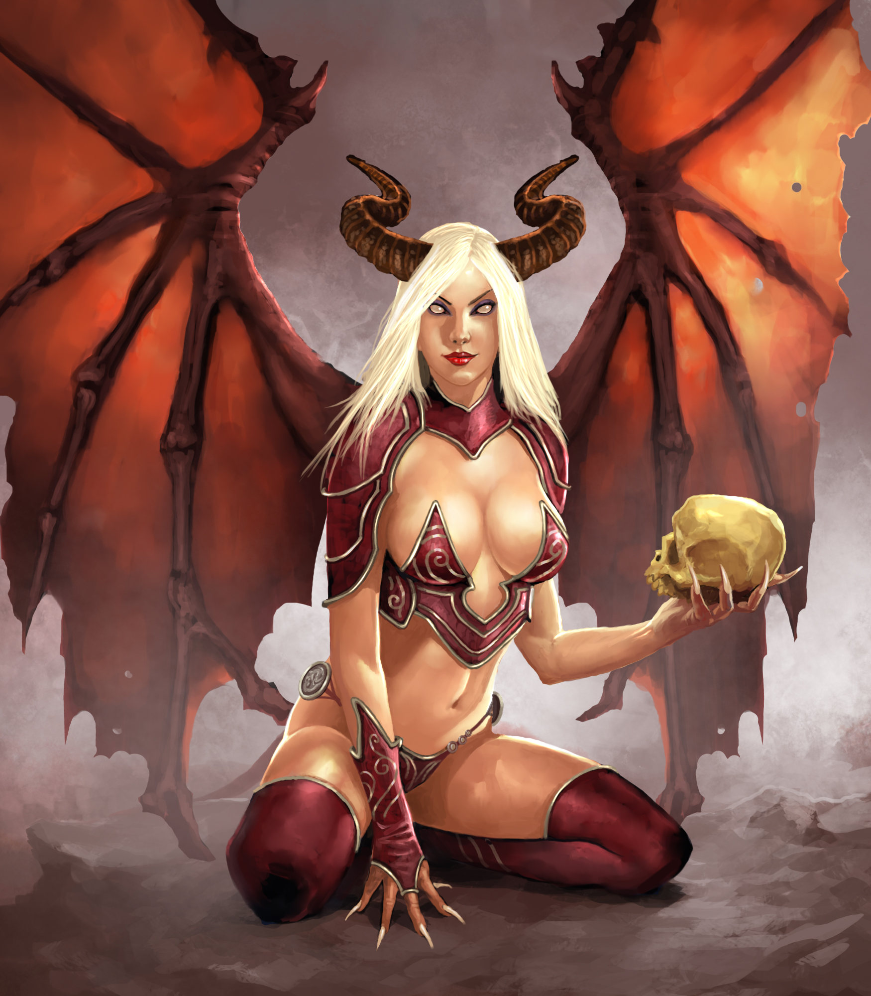 Nice wallpapers Succubus 1750x2000px