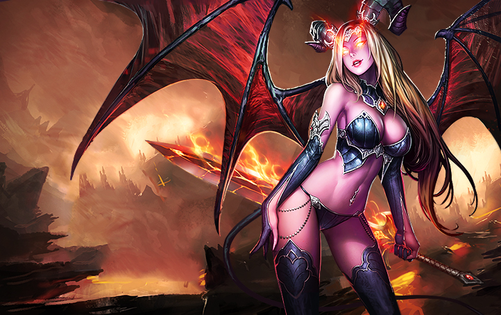 Nice Images Collection: Succubus Desktop Wallpapers