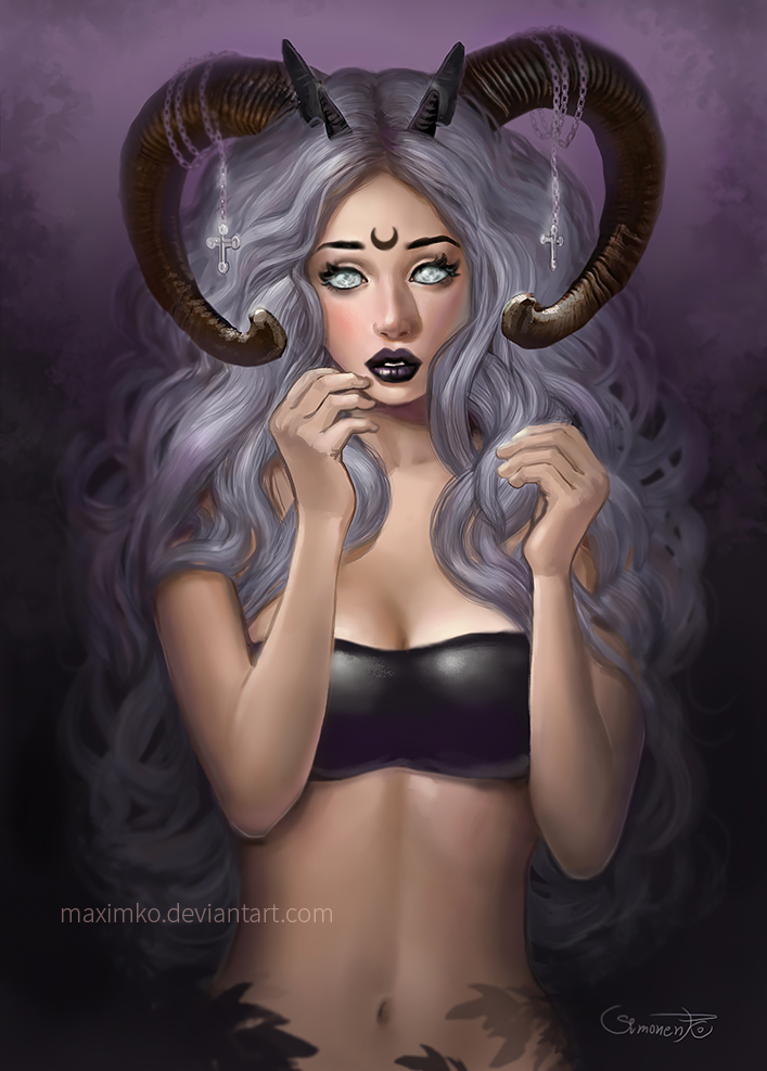 Nice wallpapers Succubus 707x987px
