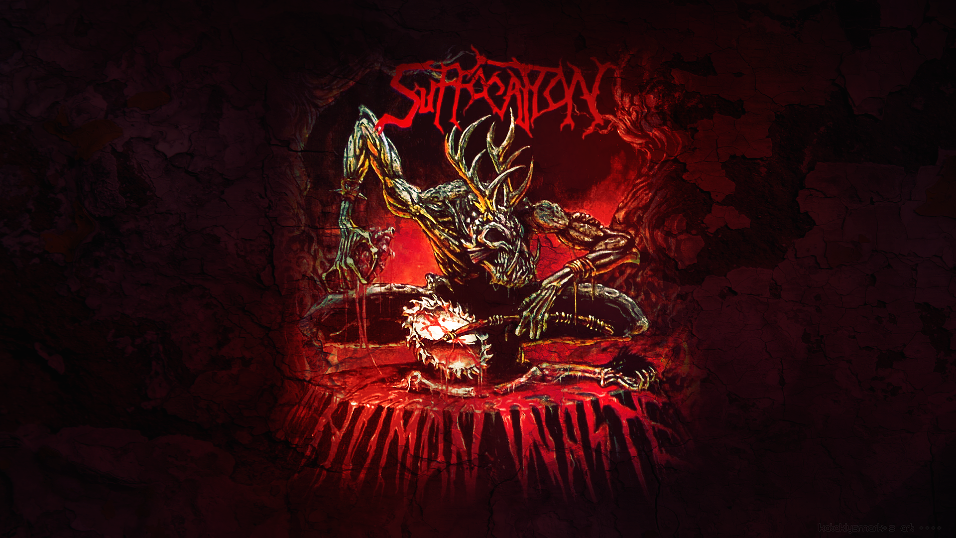 Nice wallpapers Suffocation 1920x1080px