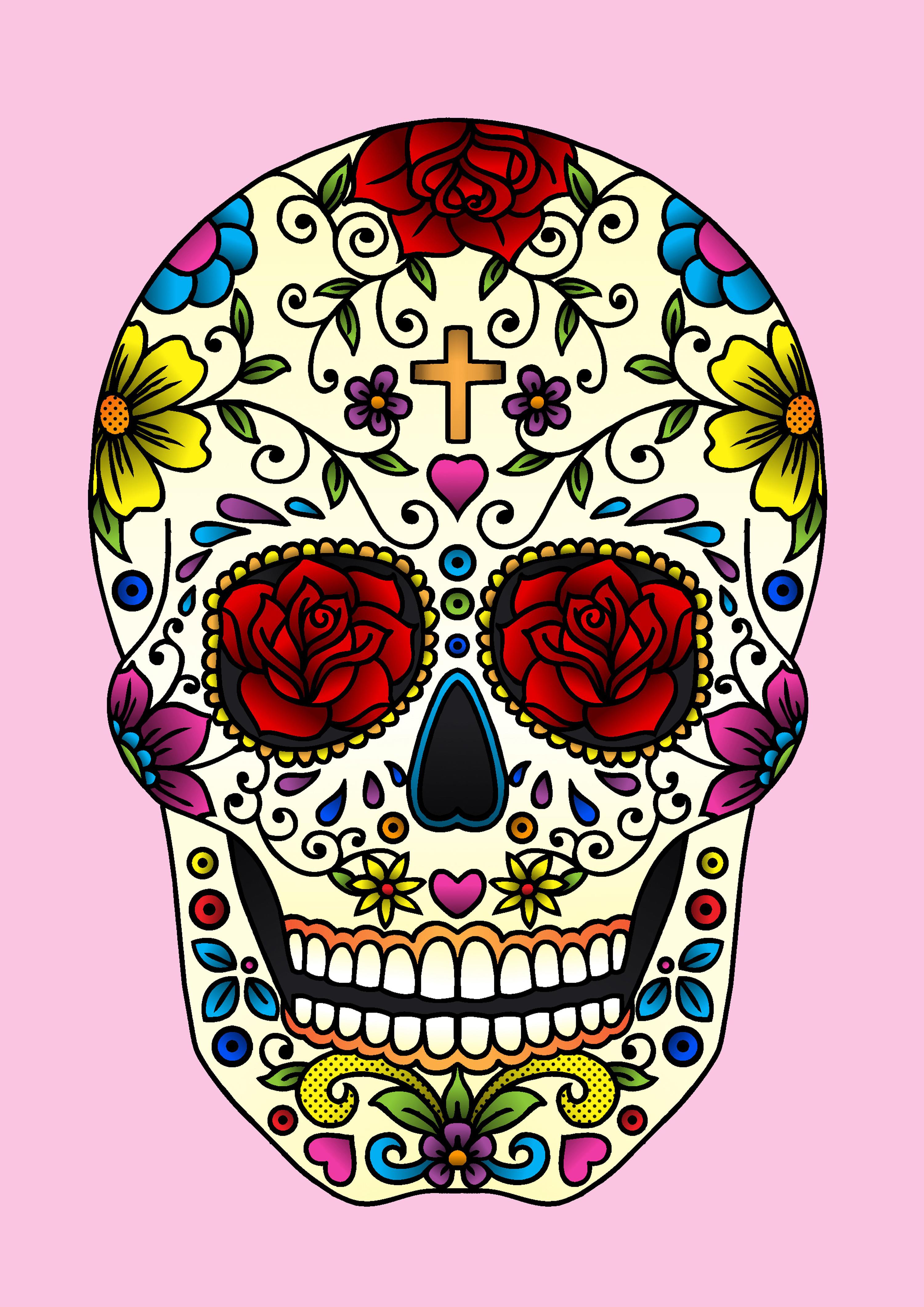 Images of Sugar Skull | 3000x4244