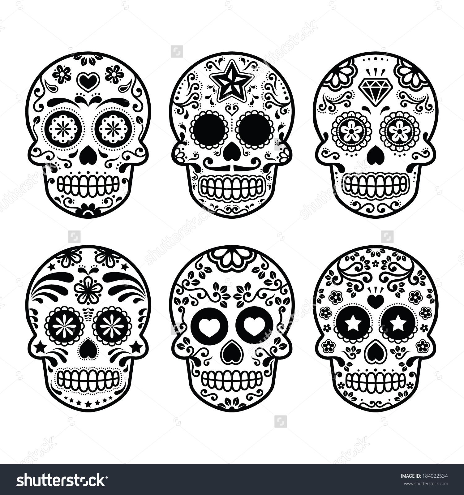 Images of Sugar Skull | 1500x1600