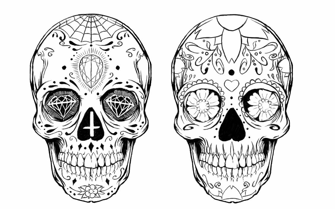 Sugar Skull High Quality Background on Wallpapers Vista