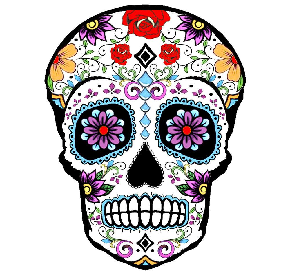 Nice Images Collection: Sugar Skull Desktop Wallpapers