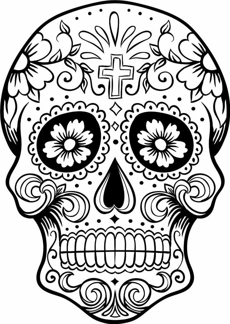High Resolution Wallpaper | Sugar Skull 736x1034 px