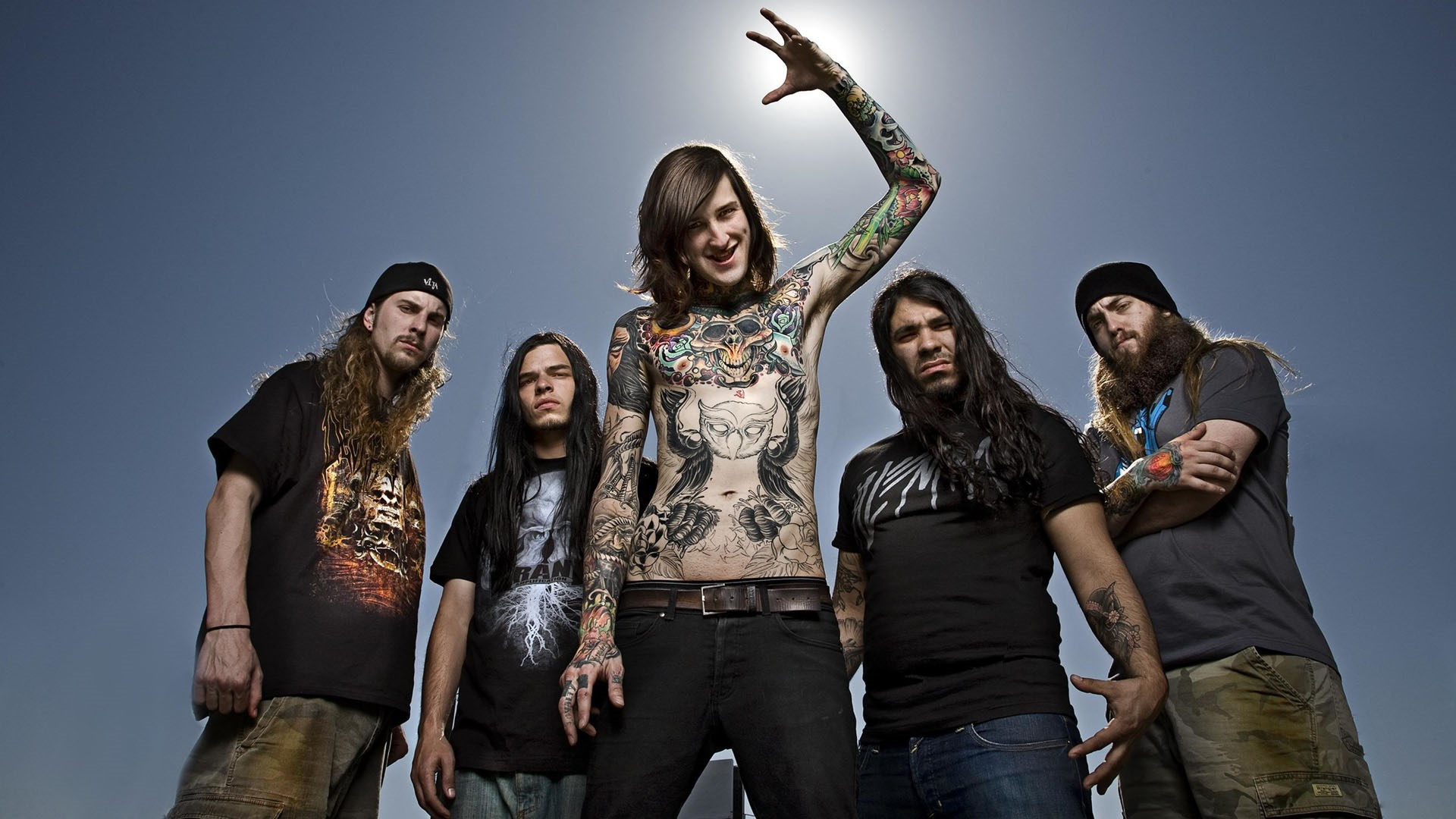 High Resolution Wallpaper | Suicide Silence 1920x1080 px