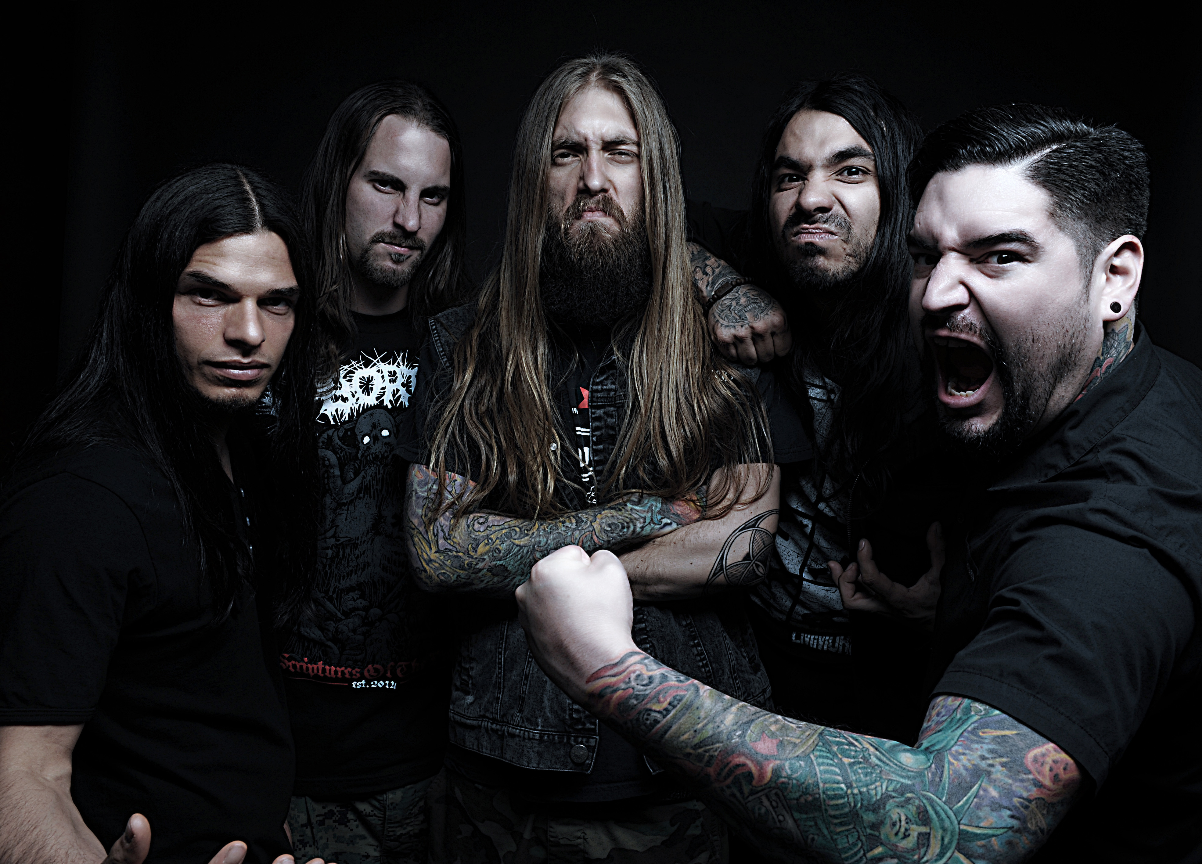 Nice wallpapers Suicide Silence 3940x2832px
