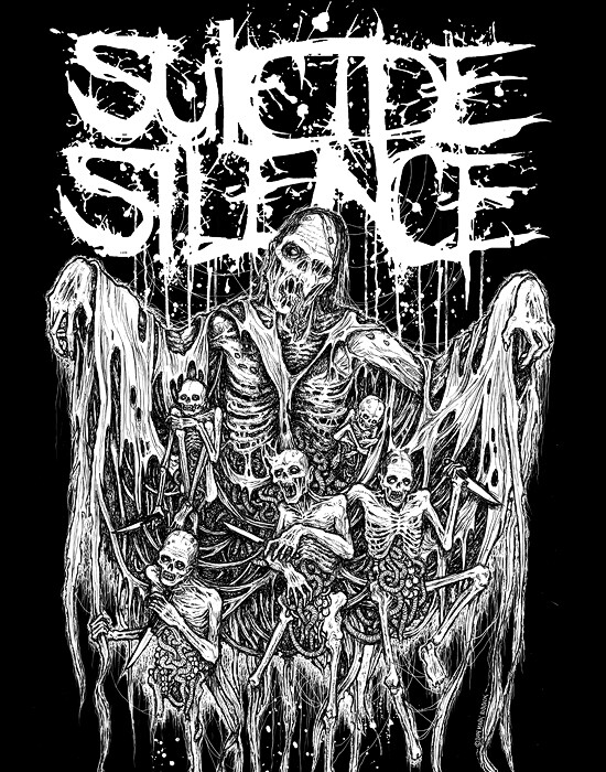 High Resolution Wallpaper | Suicide Silence 550x700 px