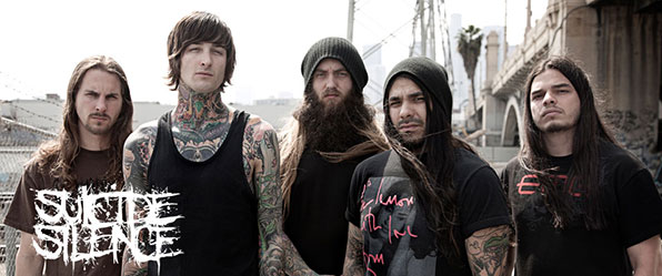 Nice Images Collection: Suicide Silence Desktop Wallpapers