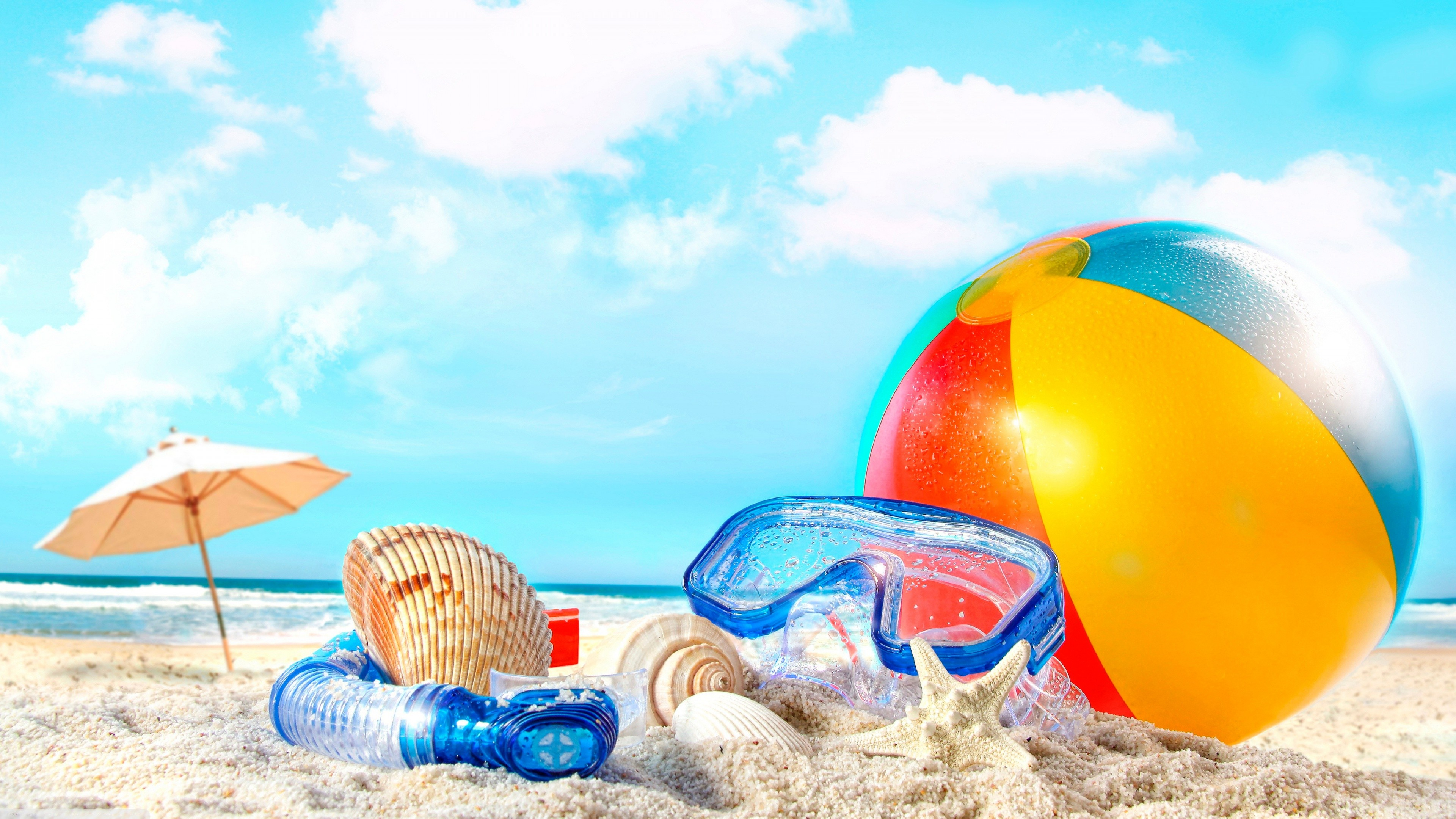 Nice wallpapers Summer 3840x2160px
