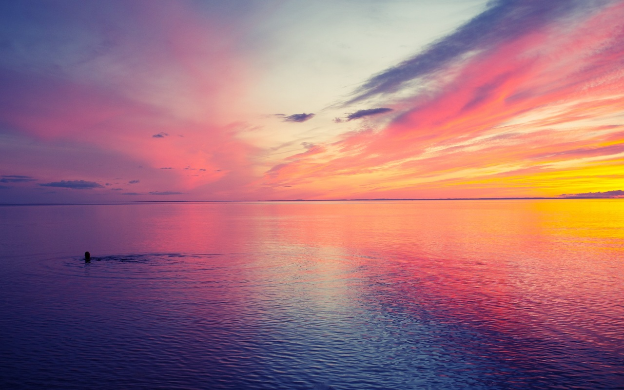 Nice Images Collection: Sunset Desktop Wallpapers
