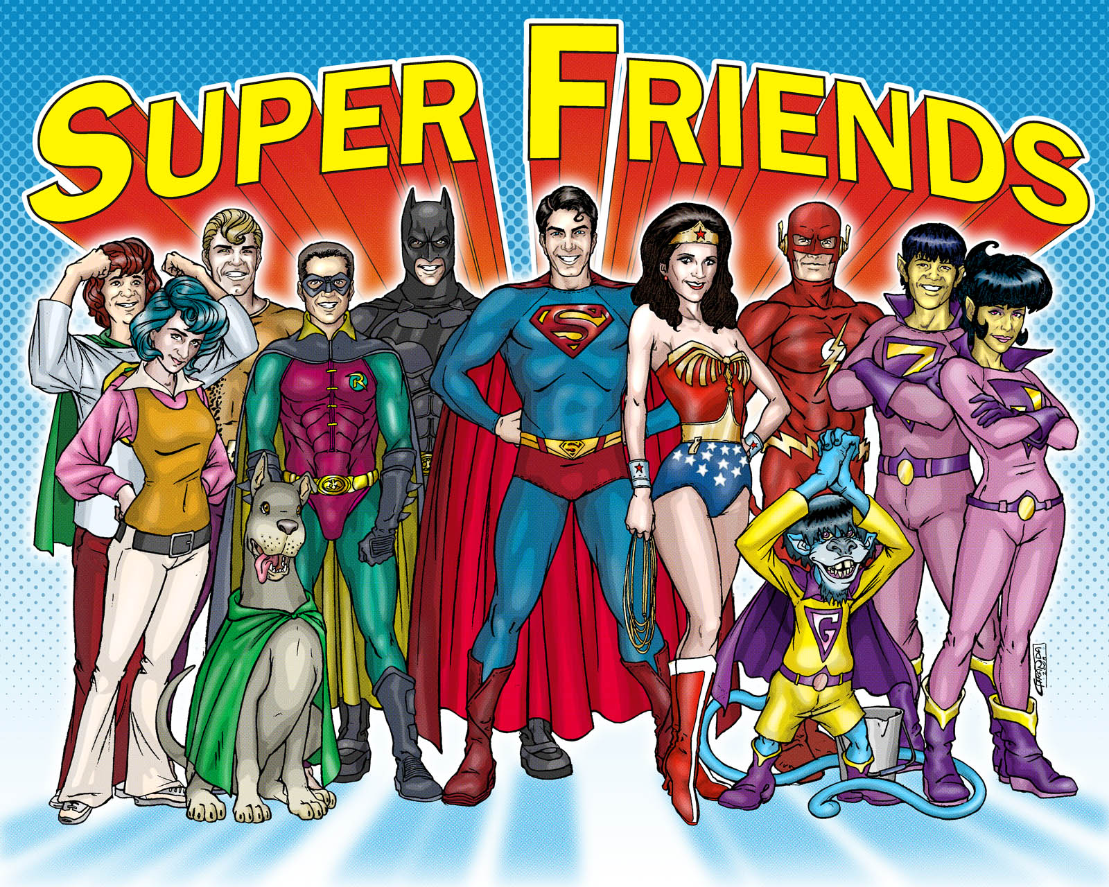 Images of Super Friends | 1600x1280