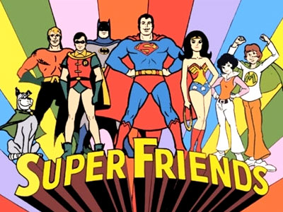 HD Quality Wallpaper | Collection: Comics, 400x300 Super Friends