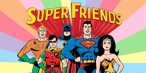 High Resolution Wallpaper | Super Friends 580x290 px