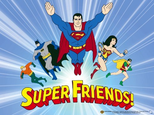 HQ Super Friends Wallpapers | File 54.32Kb