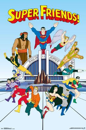 High Resolution Wallpaper | Super Friends 280x425 px
