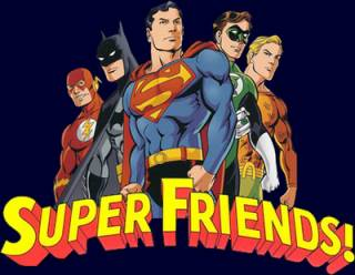 Nice wallpapers Super Friends 320x248px