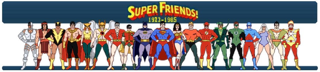 HQ Super Friends Wallpapers | File 274.48Kb