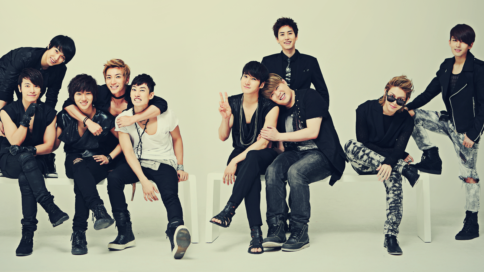 Nice Images Collection: Super Junior Desktop Wallpapers