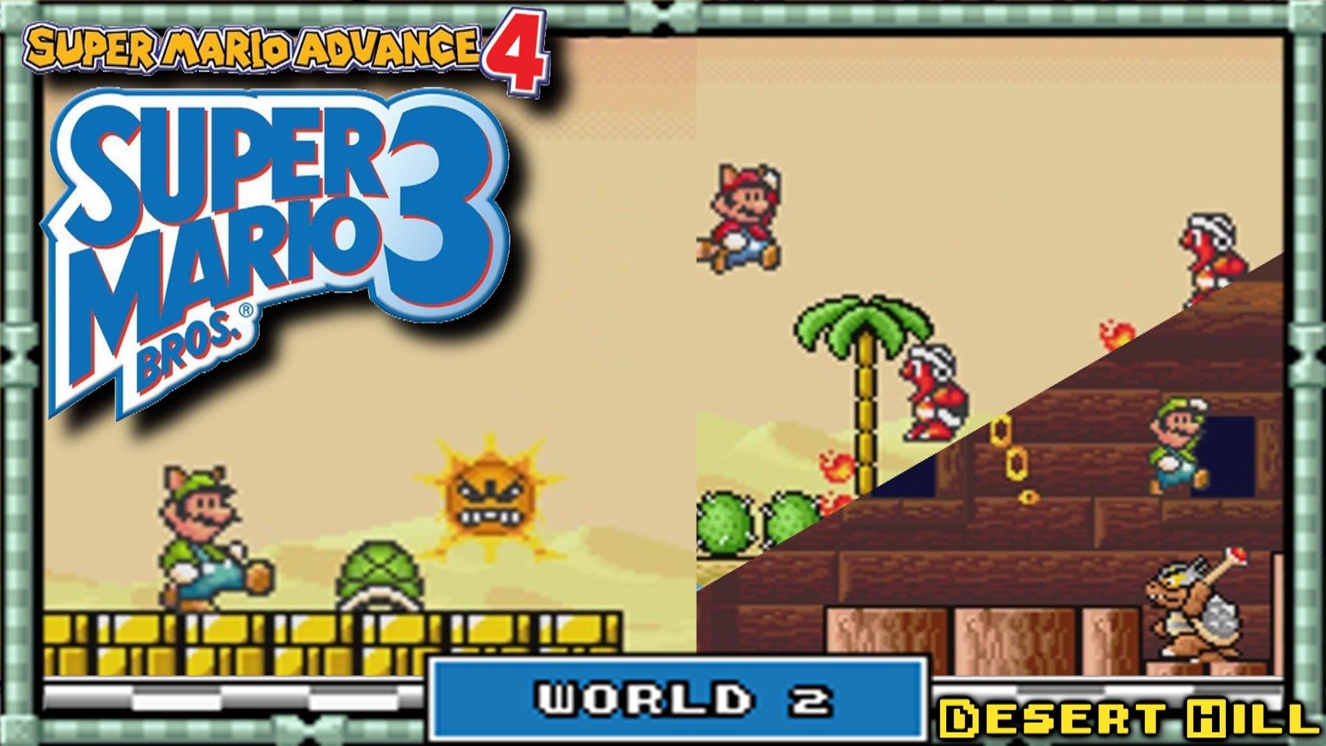 Super Mario Advance 4 - Super Mario Bros  3 wallpapers