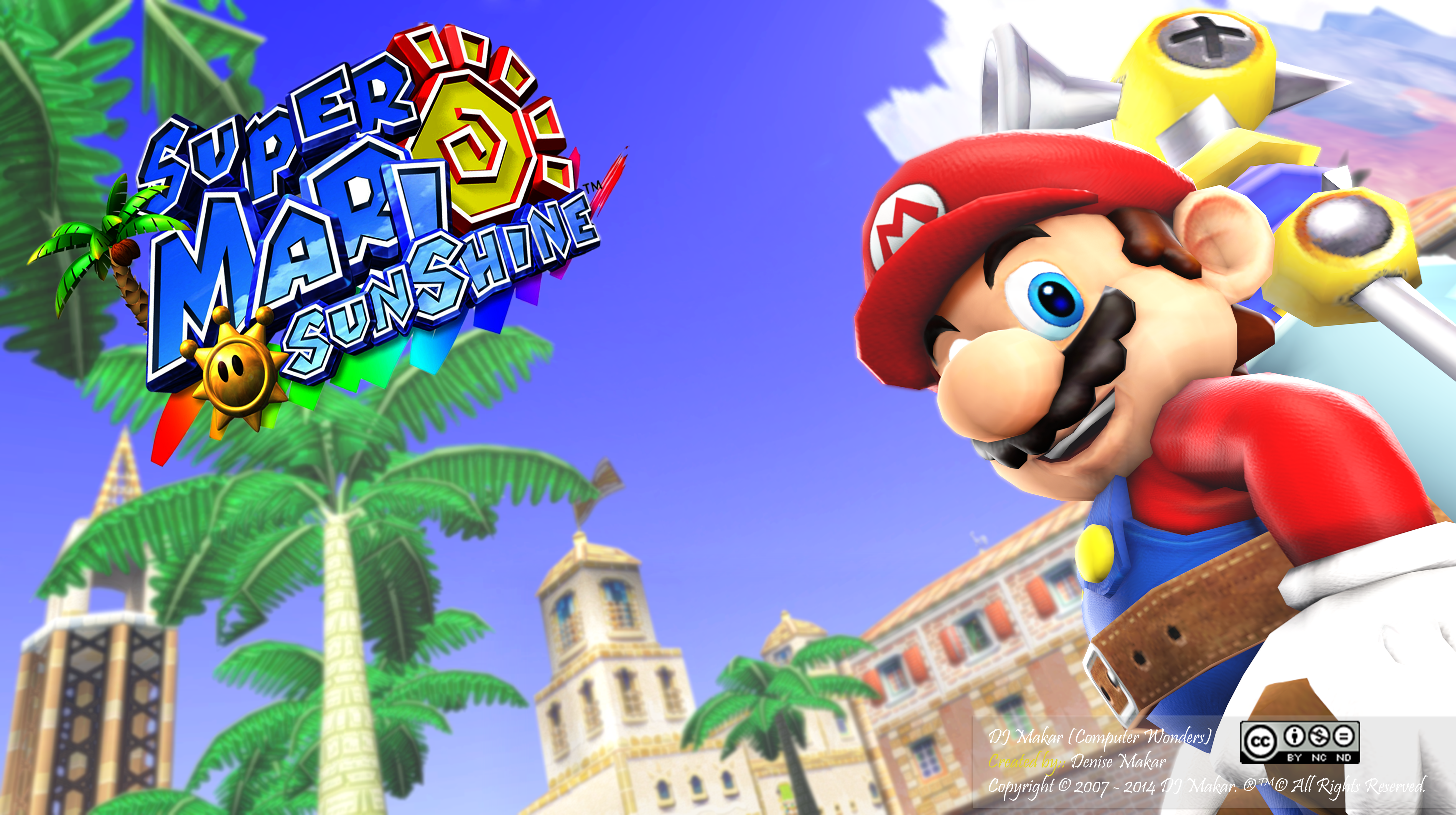 Super Mario Sunshine Wallpapers Video Game Hq Super Mario