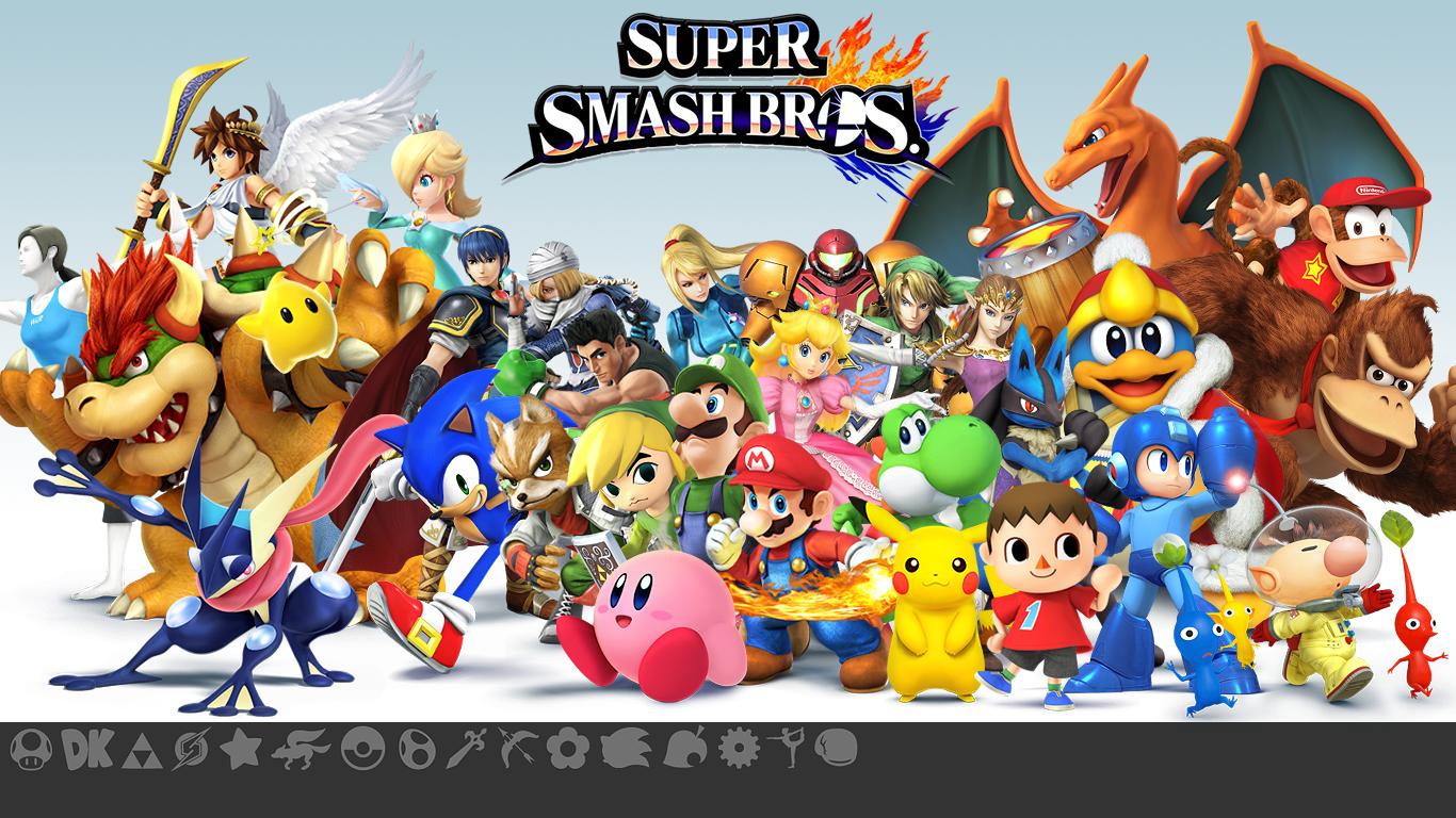 Bros download smash super 4 Super Smash