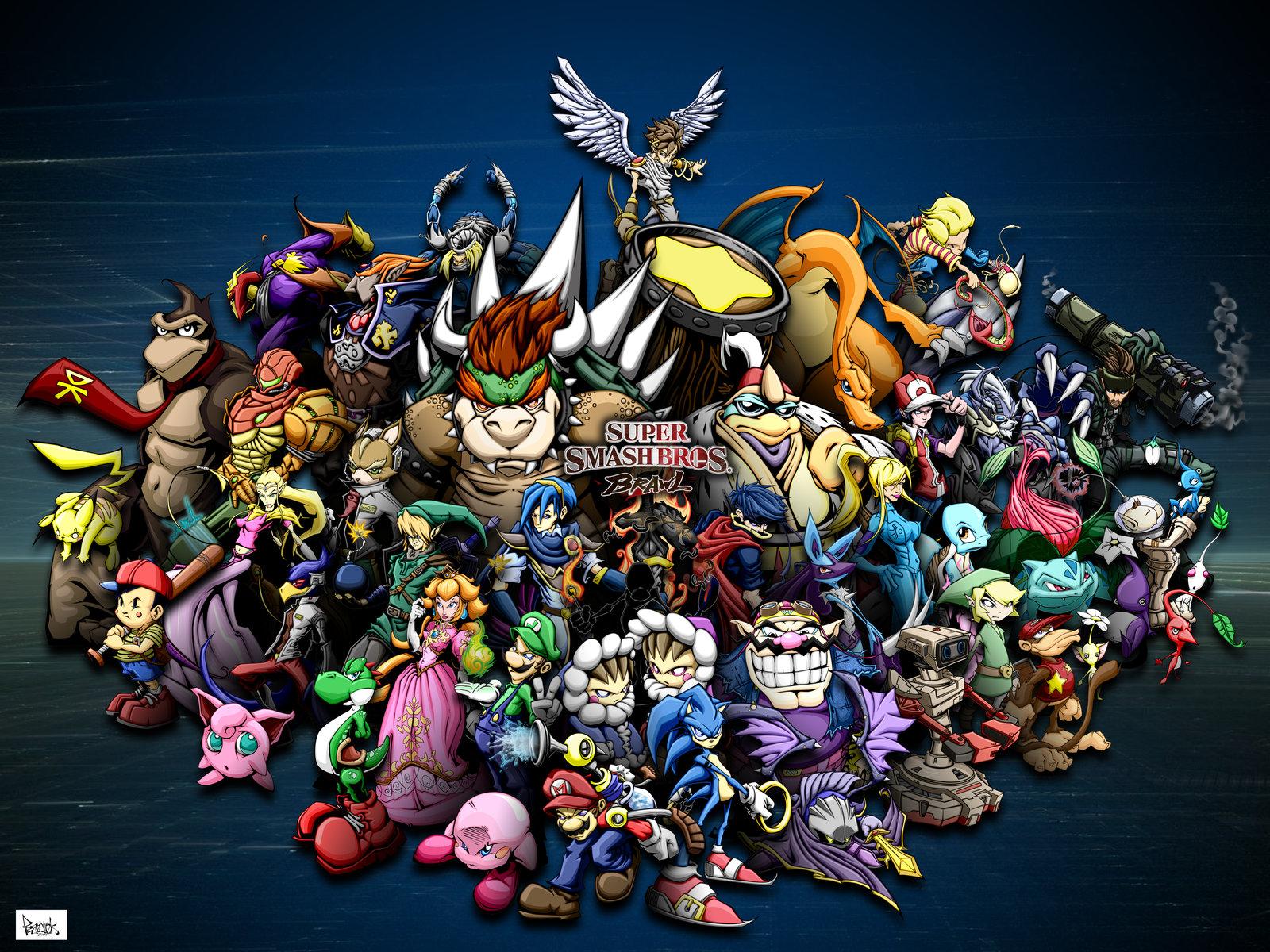 Super Smash Bros Brawl Wallpapers Video Game Hq Super Smash