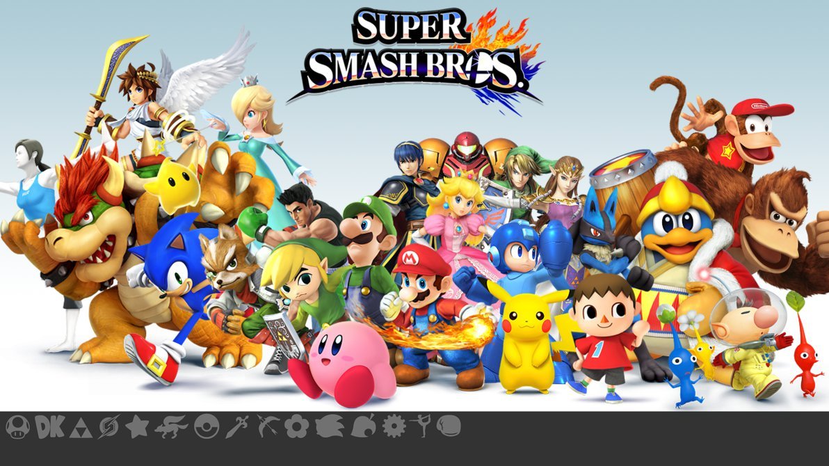 Super Smash Bros For Nintendo 3ds And Wii U Wallpapers Video