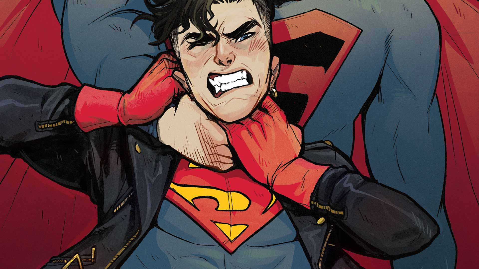 Nice Images Collection: Superboy Desktop Wallpapers
