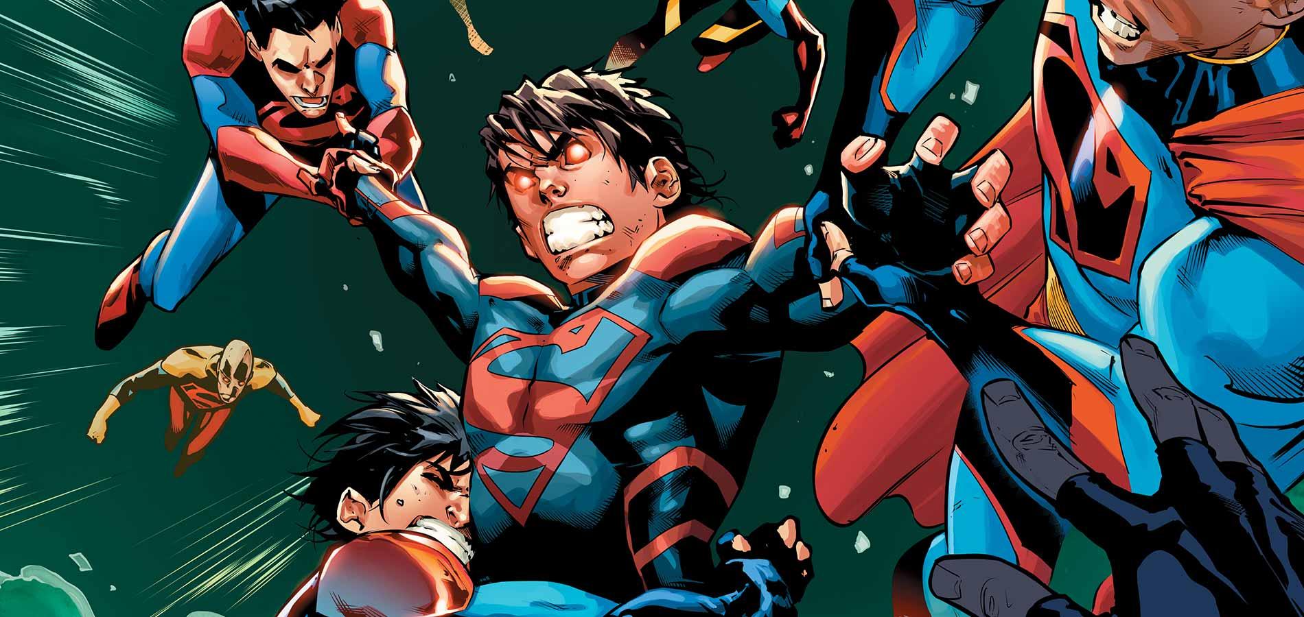 High Resolution Wallpaper | Superboy 1900x900 px
