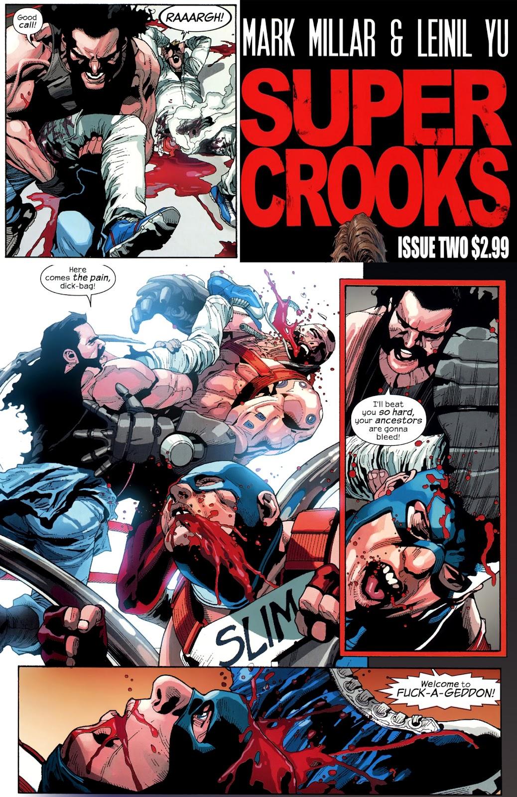 Supercrooks Pics, Comics Collection