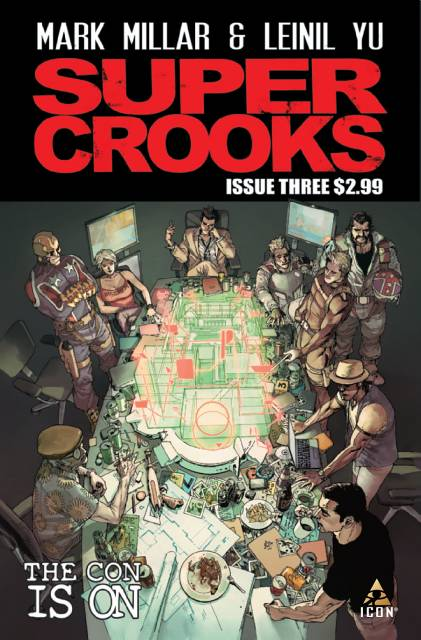 Nice Images Collection: Supercrooks Desktop Wallpapers