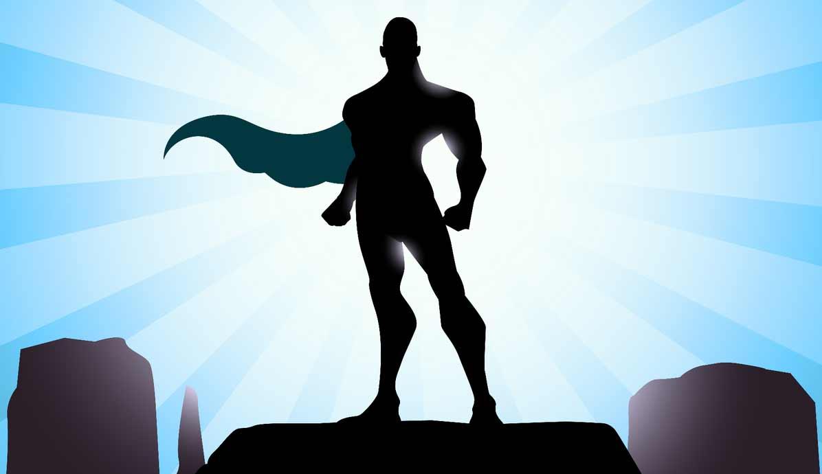 High Resolution Wallpaper | Superhero 1196x690 px