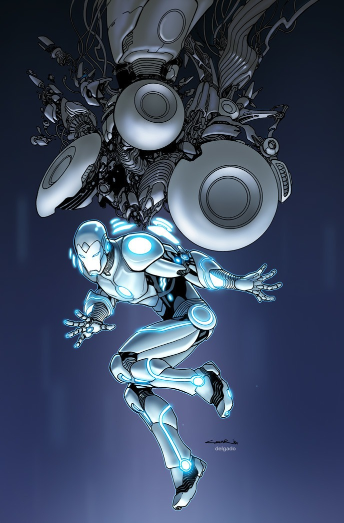 Nice Images Collection: Superior Iron Man Desktop Wallpapers
