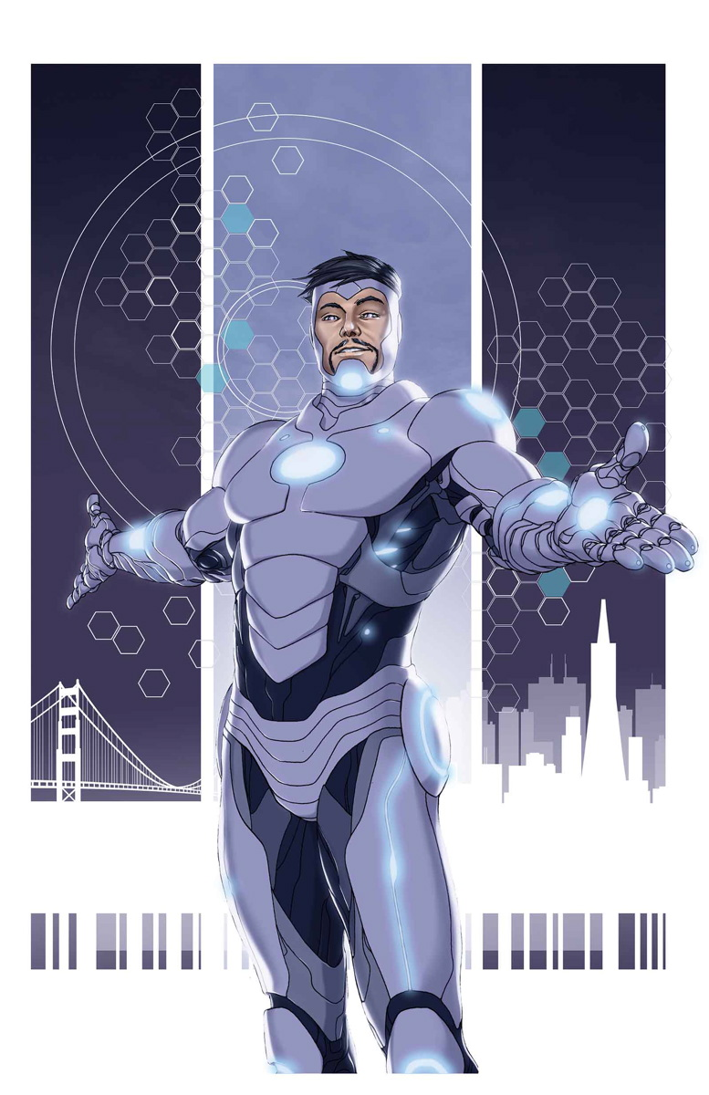 Superior Iron Man Pics, Comics Collection