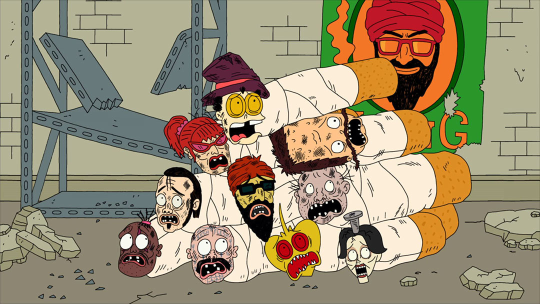 Nice wallpapers Superjail 1080x608px