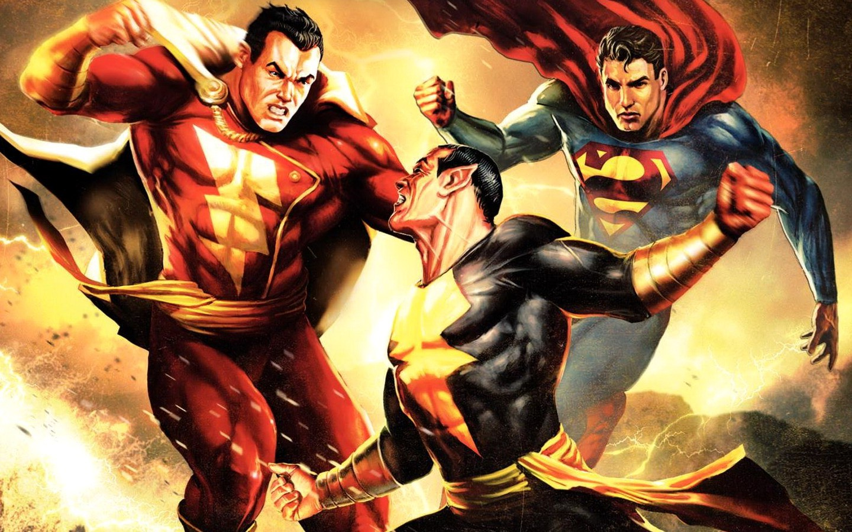 HQ Superman Shazam!: The Return Of Black Adam Wallpapers | File 368.08Kb