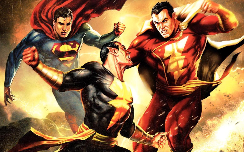 HQ Superman Shazam!: The Return Of Black Adam Wallpapers | File 392.79Kb