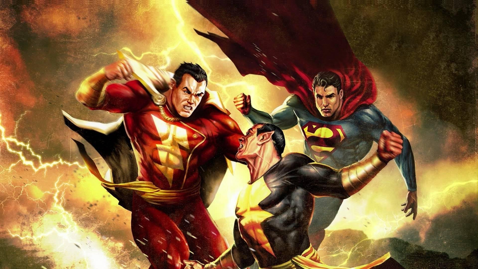 Amazing Superman Shazam!: The Return Of Black Adam Pictures & Backgrounds