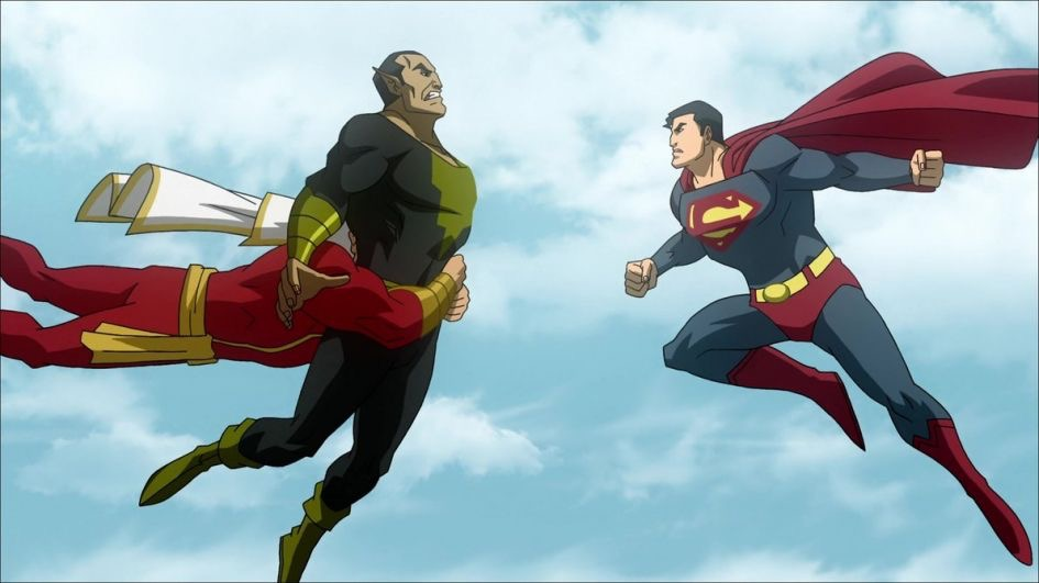 HQ Superman Shazam!: The Return Of Black Adam Wallpapers | File 89.32Kb