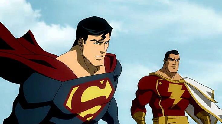 Nice wallpapers Superman Shazam!: The Return Of Black Adam 734x410px